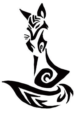 fox logo tattoo designs tribal fox search