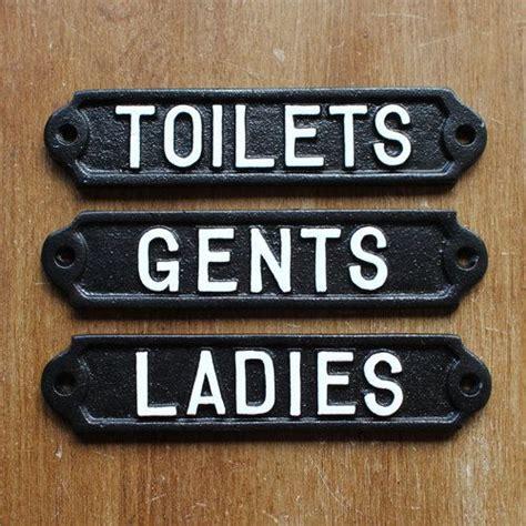 antique bathroom signs antique style toilet door signs cast metal toilets