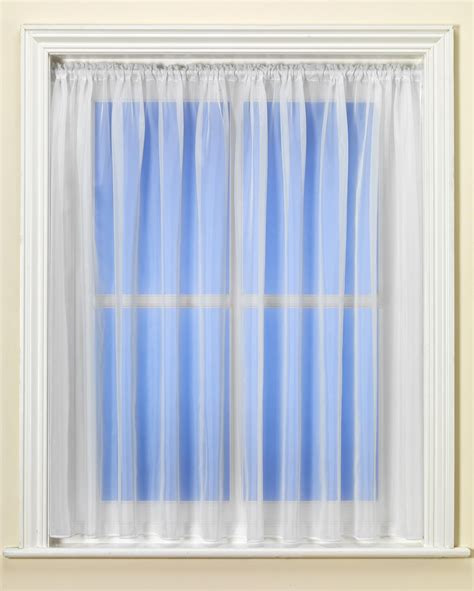 plain white curtains plain express white voile curtain from net curtains direct