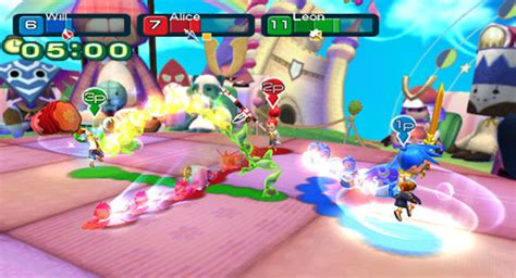 best 4 player wii line attack heroes announced for wii by nintendo 4 player