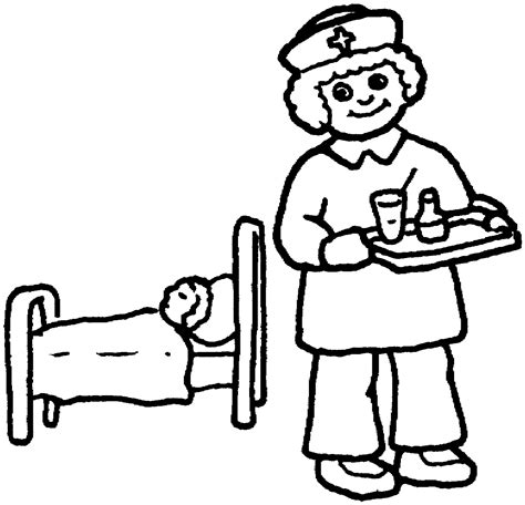 coloring pages nurses and doctors doctor coloring pages for kids coloring home