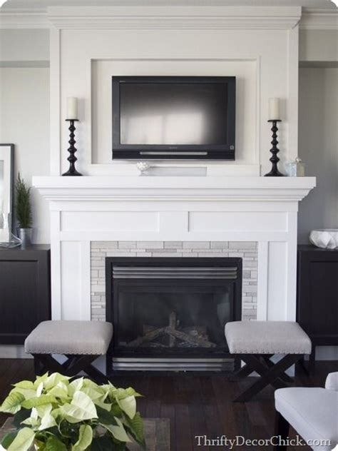 easy fireplace makeover fireplace makeover ideas for the house pinterest