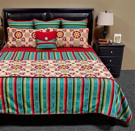 laredo comforter set laredo turquoise bedding set