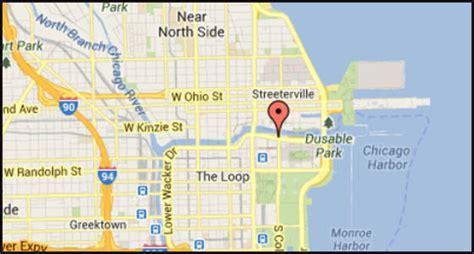 chicago river map pulled from chicago river tribunedigital