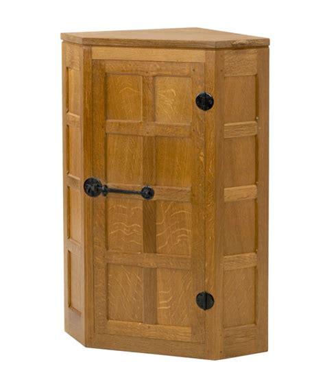 Cupboard Uk Solid Oak Small Panelled Corner Cupboard Cd010 Shop