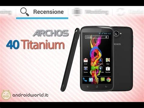 archos 40b titanium video clips