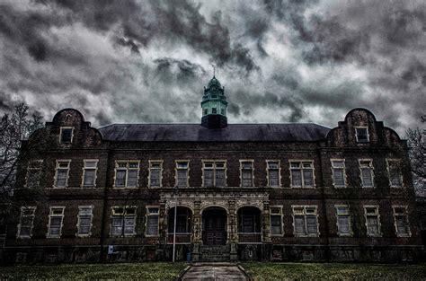Pennhurst Haunted House by Pennhurst Asylum Photograph By Bill Berry