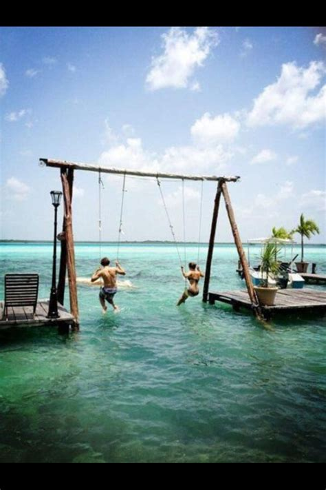 dock rope swing dock swing for the home pinterest