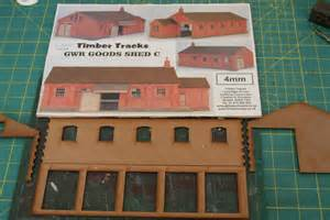 Floor Plans For Sheds timber tracks 4mm gwr goods shed c quot broadway quot scenery