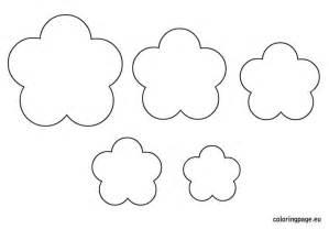 felt flower templates felt flower template pdf cbru