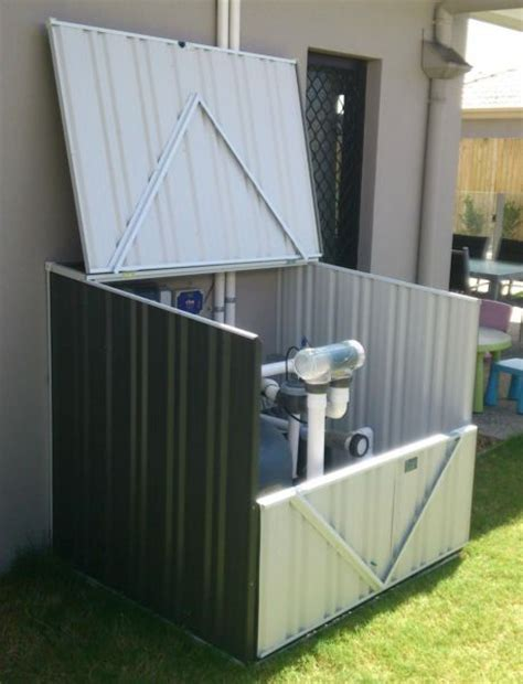 Pool Filter Cover Shed by 17 Best Images About Pool On Recycling Pool