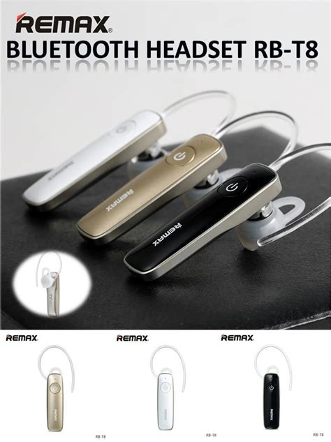Original Remax Rb T5 Bluetooth Headset remax official store bluetooth earpiece rb t8