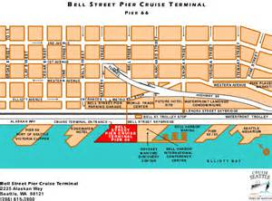 Pier 91 Seattle Map by Seattle Cruise Ship Terminal Map Pictures To Pin On