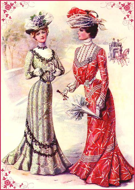 imagenes vintage mujeres ilustraciones vintage