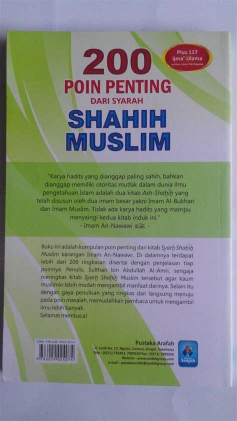 Syarah Riyadhus Shalihin Jilid 4 Pustaka Imam Asy Syafi I buku 200 poin penting dari syarah shahih muslim