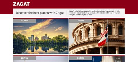 Zagat Search What Is Zagat A History And Overview