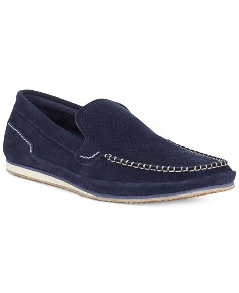 timberland earthkeepers loafers timberland earthkeepers valley loafers in blue for