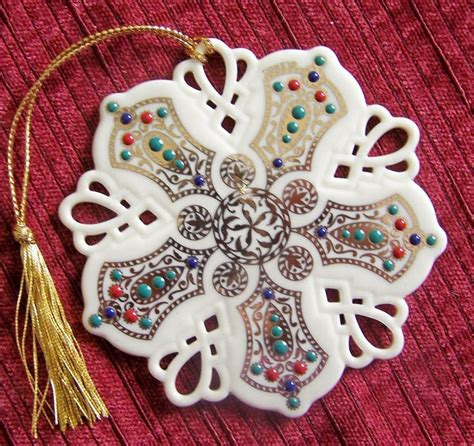 lenox twelve days of christmas snowflake ornaments 503 best images about lenox ornaments on