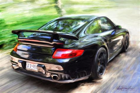 painting for cars car painting porsche gt2 by z vincent on deviantart