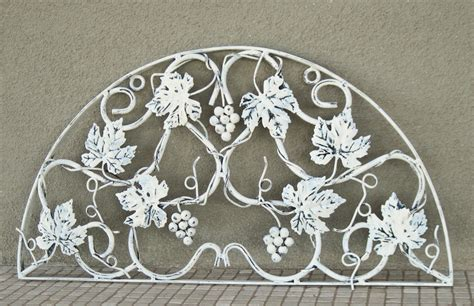 large wrought iron wall hanging wall decor refurbished in