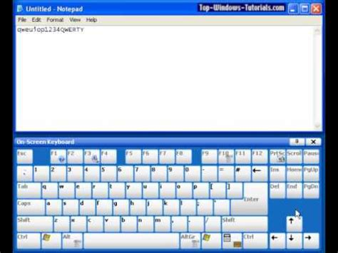 computer keyboard tutorial software keyboard tutorial computer basics tutorial 2 youtube