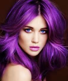 purple hair styles gallery