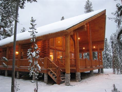 Log Cabin Floor Plans And Prices bear river country log homes log home finished projects