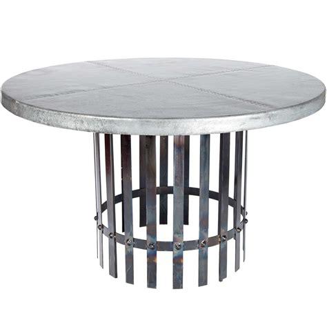 zinc patio table images 17 classic trestle tables zinc