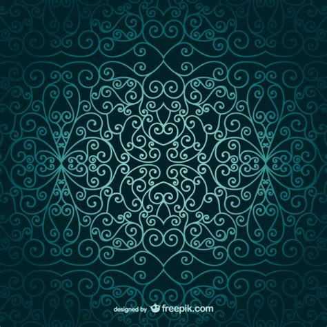 islamic style seamless pattern vector free download arabic ornamental wallpaper vector free download