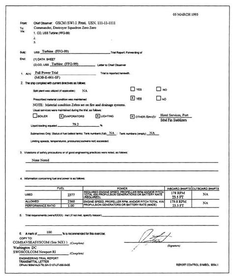 Transmittal Letter Sle Engineering Engineering Trail Report Transmittal Letter
