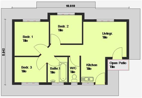 simple 3 bedroom house plans simple bedroom house plans bedroom house plans bedroom