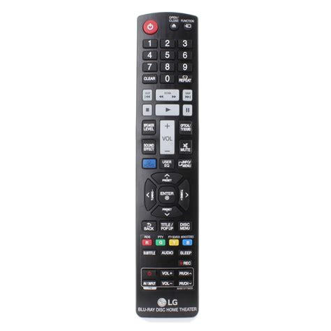original lg remote for lhb745 home theater system