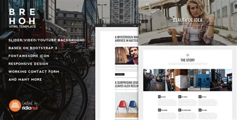 Cizarua Responsive One Page Portfolio Template brehoh responsive one page portfolio template by