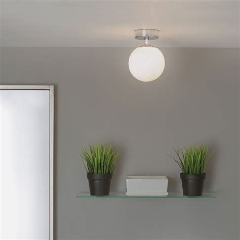 astro denver polished chrome ceiling light at uk