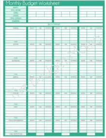 monthly budget calendar template free printable budget calendar search results calendar 2015