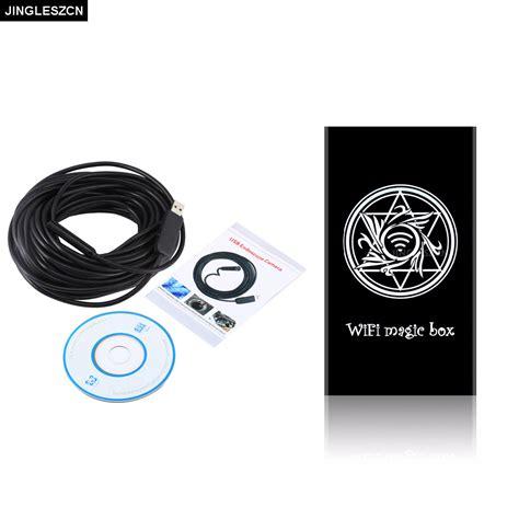 Set Wifi Endoscope Dengan Kabel 5 Meter jingleszcn wifi endoscope 10mm dia 2m 5m 7m 10m 15m 20m 25m length borescope inspection