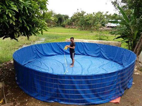 Jual Kolam Terpal Bulat 1 pusat penjualan kolam terpal bulat berkualitas