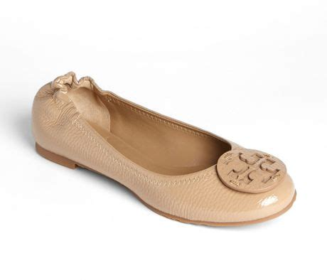 Trend Report Burch Reva Flats Are Going To Be This Second City Style Fashion by Burch Reva Flat In Beige Clay Beige Lyst