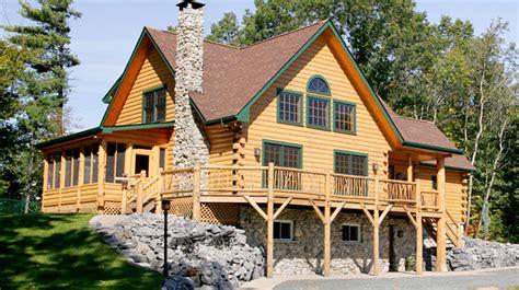 the original lincoln logs custom log homes panelized homes