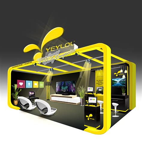 booth design kuala lumpur exhibition booth design on behance