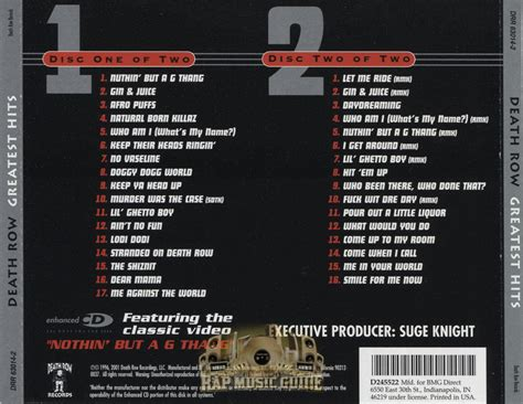 Row Records Greatest Hits Row Greatest Hits Cd Rap Guide