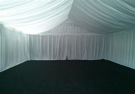 how to make ceiling drapes fairy light conopy ceiling drapes red carpet hire rope