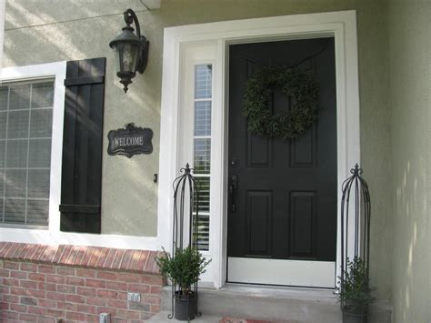 painted front door love of homes exterior paint reveal