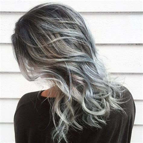 Hairstyle Wax Grey by How To Add Grey Highlights To Hair