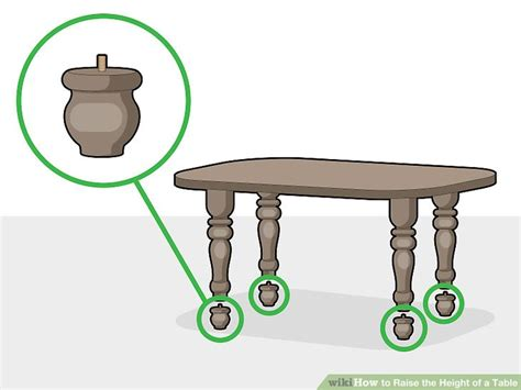 How To Raise The Height Of A Table Arnhistoria Com