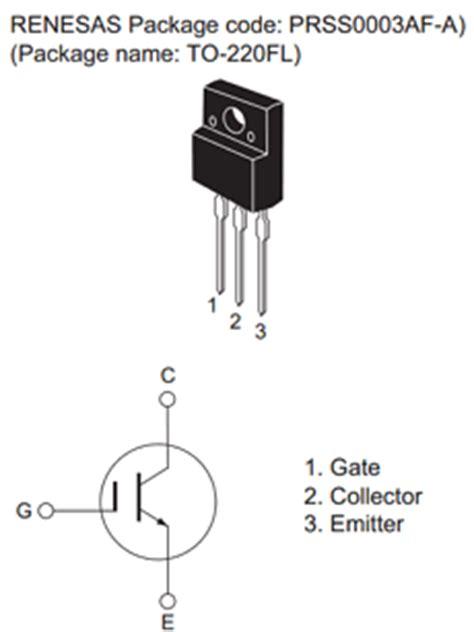 transistor rjp63k2 equivalent rjp63k2 datasheet rjp63k2 pdf pinouts circuit renesas electronics