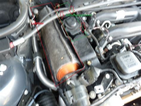 Lu Sorot Motor Touring bmw 320d e46 luftfilter wechseln die hauptantriebswelle des autos
