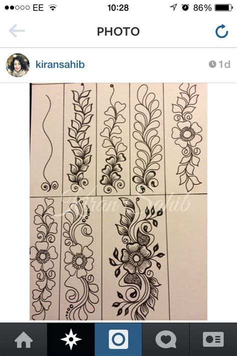 step by step tutorial for henna pattern our external 25 best ideas about henna tutorial on pinterest henna