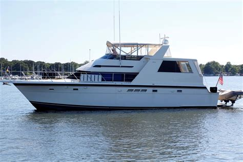 yachtworld used boats for sale 1991 hatteras 52 cockpit motor yacht power boat for sale