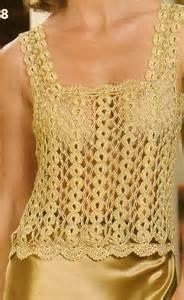 como hacer blusas tejidas a gancho paso a paso imagui como tejer cadenas para blusa dorada a crochet paso 1